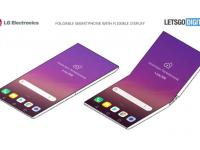 LG pregătește un smartphone pliabil care va funcționa ca un telefon cu clapetă