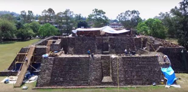 Descoperire surprinzătoare într-o piramidă din Mexic. Ce-a scos la lumină un cutremur puternic