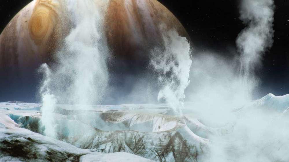 Dovezi ale vieții extraterestre pe Europa s-ar putea găsi la doar câțiva centimetri sub scoarța de gheață