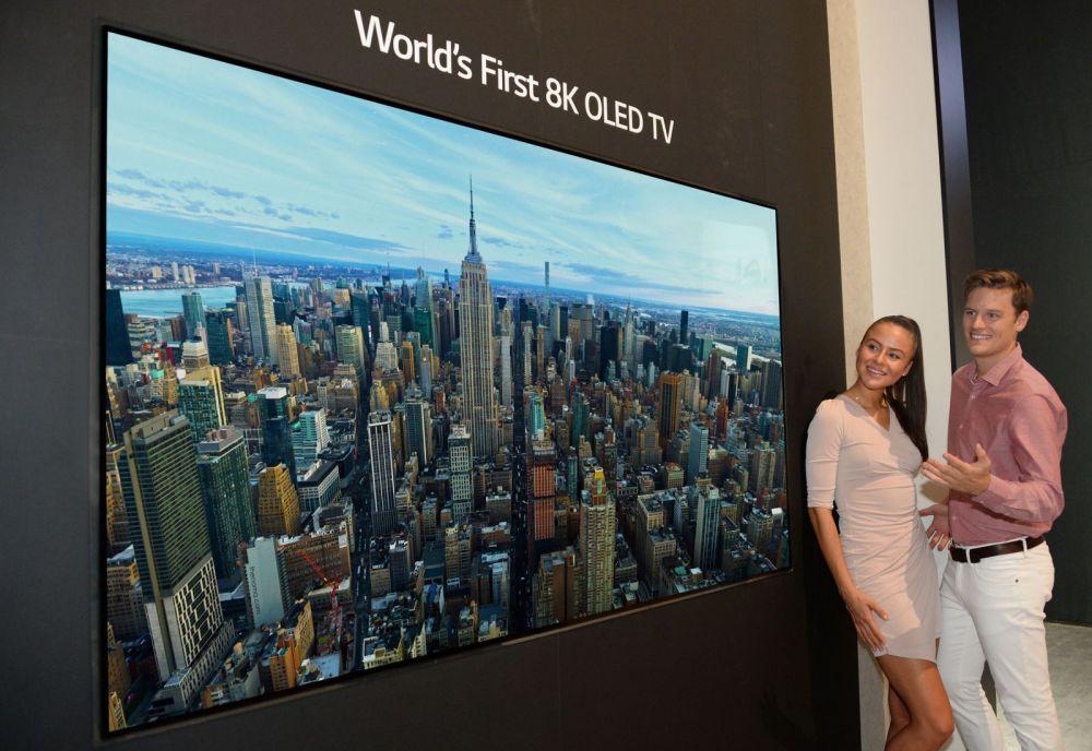 LG a prezentat primul televizor OLED 8K din lume, la IFA Berlin