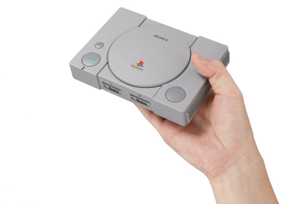Sony lansează consola în miniatură PlayStation Classic, cu 20 de jocuri originale incluse