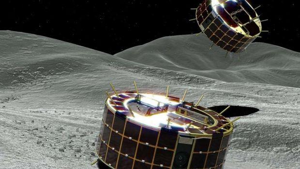 Premieră mondială! Japonia a reușit să trimită primele rovere pe suprafața unui asteroid