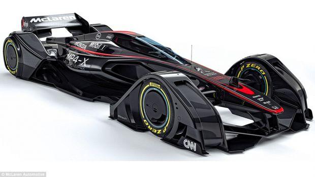 Cum arată mașina de curse a viitorului? E condusă prin telepatie și se repară singură