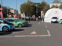A fost inaugurat primul hub din România de încărcare rapidă pentru mașinile electrice