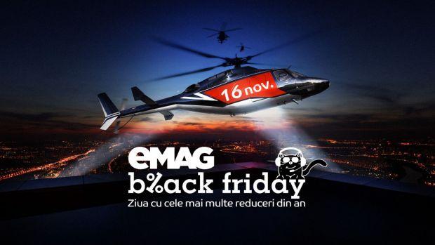 Ce produse s-au vândut cel mai bine în primele ore de Black Friday 2018 la eMAG