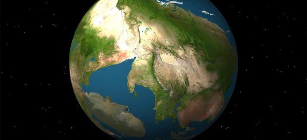 Simulare spectaculoasă: cum va arăta Pământul peste 250 de milioane de ani