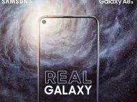 Samsung va fi primul producător care prezintă un telefon cu ecran Infinity-O: Galaxy A8s