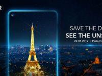 Honor View 20, un nou smartphone cu cameră frontală în ecran și senzor foto de 48MP