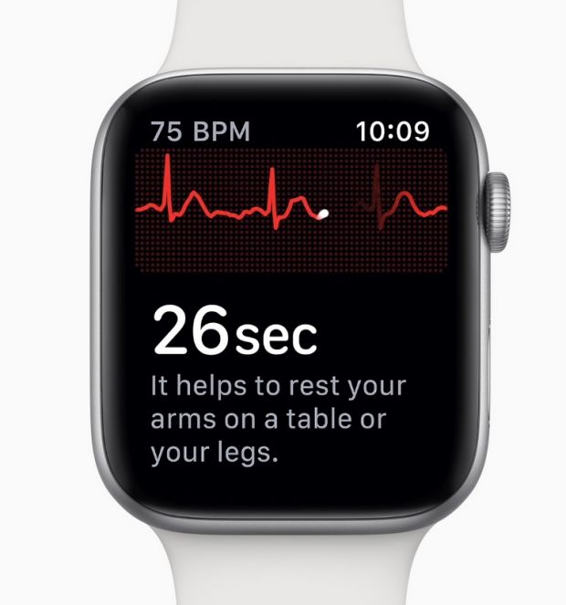 Noul Apple Watch poate face de acum și electrocardiograme