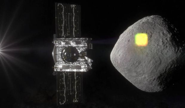 NASA a găsit dovezi ale existenței apei pe asteroidul Bennu