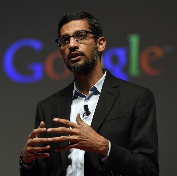 Directorul general Google, nevoit să explice de ce Donald Trump este asociat cu imaginea unui idiot