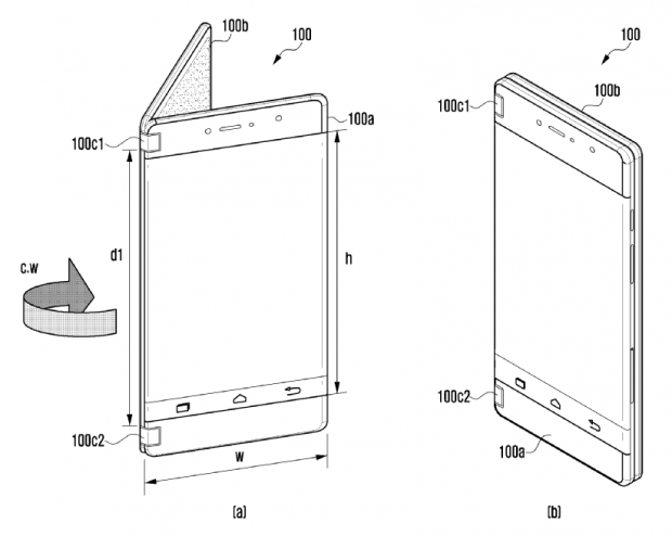 Samsung pregătește un smartphone cu două ecrane detașabile, care pot funcționa independent