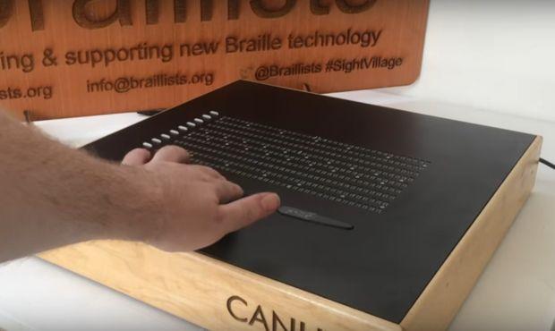 O companie vrea să lanseze un e-reader Braille pentru nevăzători