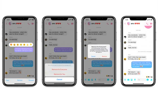 Cum poți șterge mesajele trimise din greșeală pe Facebook Messenger