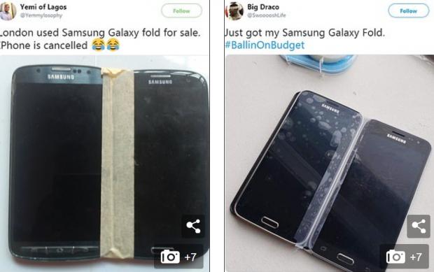 Samsung Galaxy Fold, ironizat pe rețelele sociale din cauza prețului uriaș. Ce-au postat utilizatorii