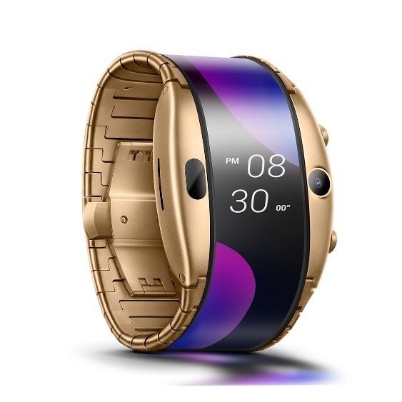 Nubia Alpha, primul gadget cu ecran flexibil care este și telefon și ceas inteligent