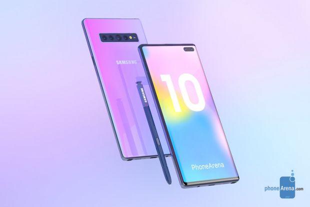 Cum va arăta Galaxy Note 10? Primele randări cu noul phablet de la Samsung