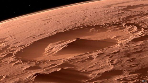 Posibile semne ale vieții pe Marte, descoperite de oamenii de știință