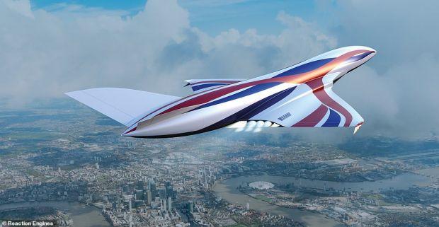 Avionul care ajunge de la Londra la New York în mai puțin de o oră. Ce tehnologie folosește