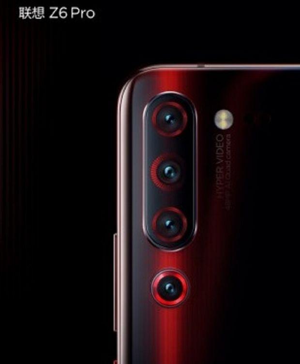 Lenovo va lansa noul smartphone Z6 Pro, cu patru camere foto pe spate și procesor incredibil