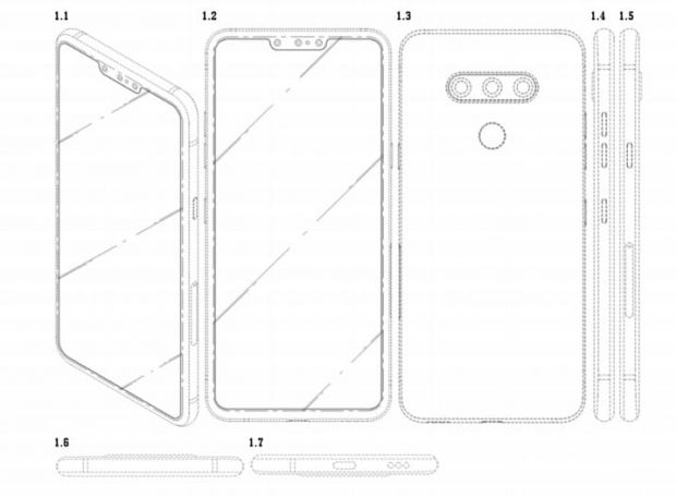 LG va produce un smartphone cu șase camere foto: trei frontale și trei pe spate