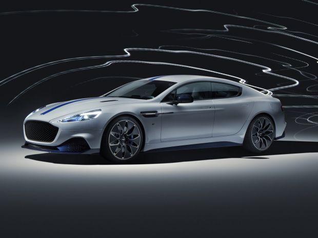 Aston Martin a lansat o mașină electrică pentru a detrona supremația Tesla