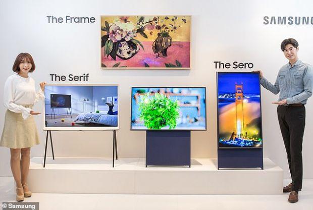 Samsung a lansat primul televizor vertical din lume. Prețul uriaș cu care vine pe piață