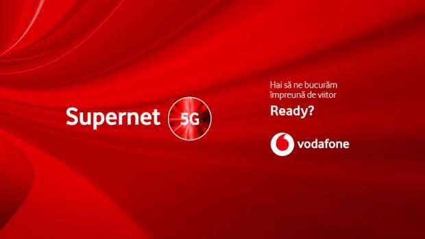 Vodafone anunță lansarea primei rețele 5G din România