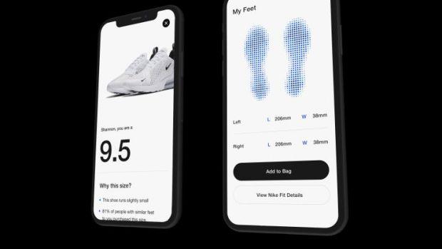 O aplicație lansată de Nike te ajută să alegi măsura potrivită la pantofi