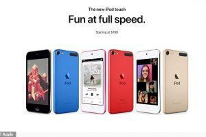 Apple a lansat un nou iPod Touch, după 4 ani de la ultimul model