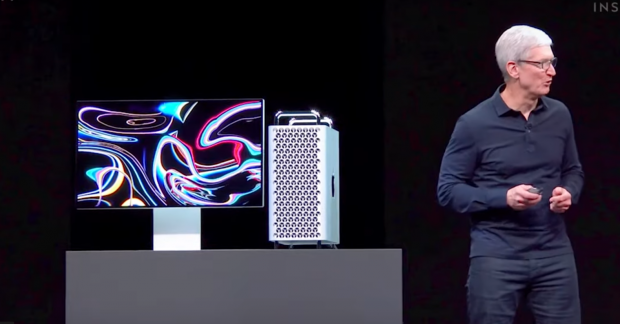 Apple a prezentat noul Mac Pro, un desktop care costă 6.000 de dolari