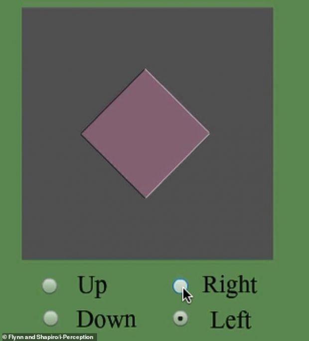 Iluzie optică incredibilă concepută de oamenii de știință. În ce direcție se deplasează rombul?
