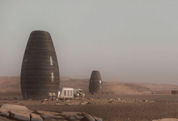 Unde vor locui oamenii când vor ajunge pe Marte. Proiectul ambițios care i-a cucerit pe cei de la NASA