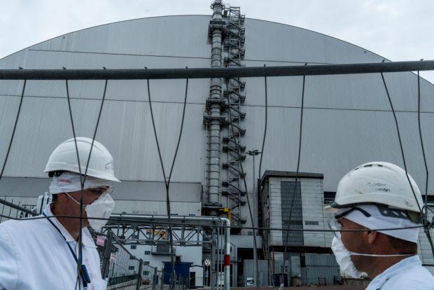 Cum arată noul sarcofag de 1,5 miliarde de euro construit în jurul reactorului de la Cernobîl
