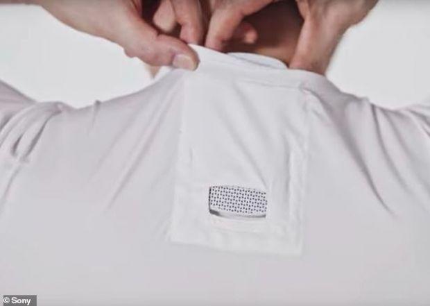 Sony lansează un aparat minuscul de aer condiționat, pe care îl poți purta sub tricou
