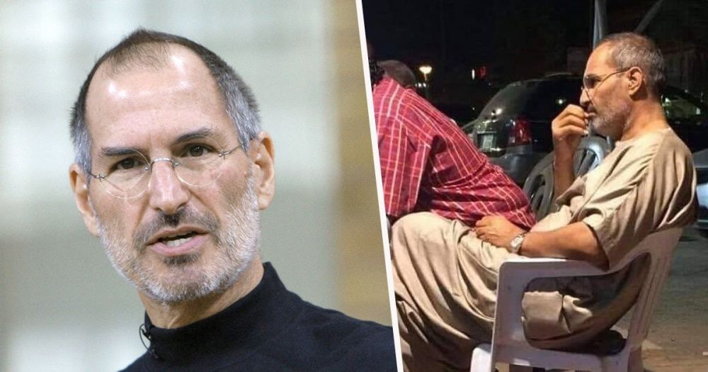 Conspirația din spatele unei imagini în care ar apărea Steve Jobs, fondatorul Apple