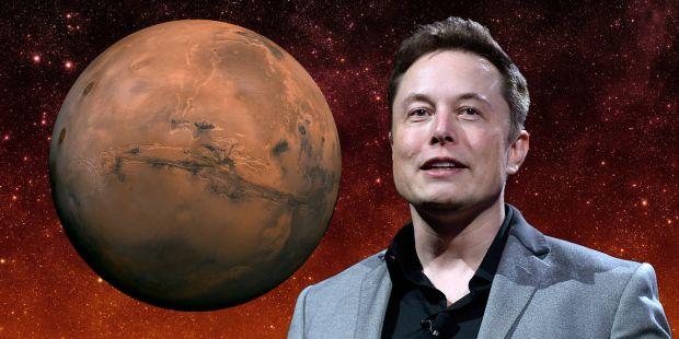 Noua idee a lui Elon Musk pentru popularea planetei Marte