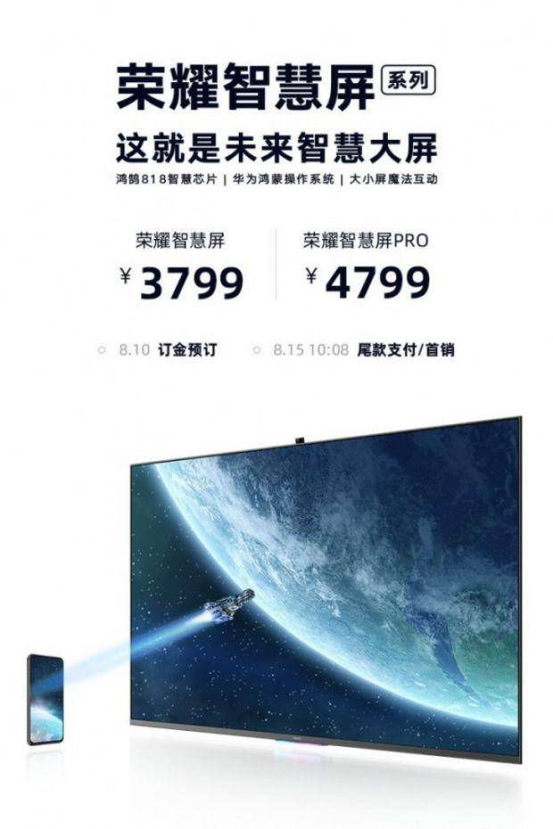 Huawei lansează sistemului de operare HarmonyOS pe un smart TV