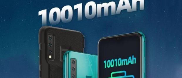 Un King Kong al telefoanelor. Cum arată smartphone-ul gigant cu baterie de 10.000 mAh