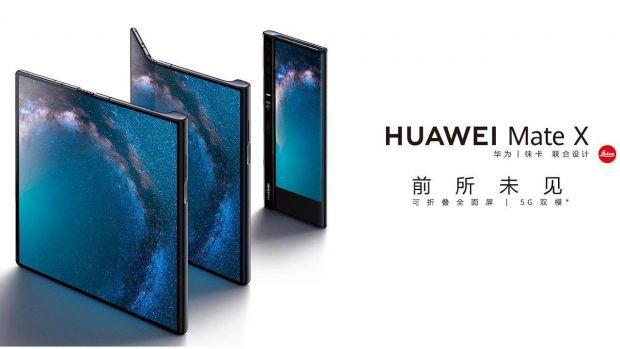 Viitorul telefon pliabil LG arată exact ca Huawei Mate X