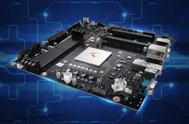 Huawei intră puternic pe o nouă piață. Compania pregătește o placă de bază care suportă un procesor cu până la 64 de nuclee