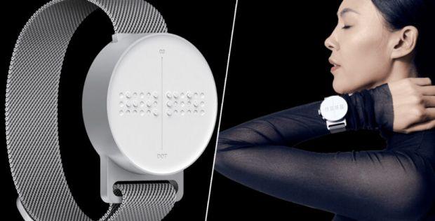 A fost inventat primul smartwatch Braille, pentru persoanele cu deficiențe de vedere