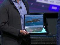 Cum arată cel mai mare display pliabil din lume, adus de Intel pe un laptop la CES 2020