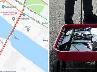 Experiment incredibil: Cum a reușit acest bărbat să blocheze o stradă întreagă pe Google Maps cu ajutorul unor telefoane