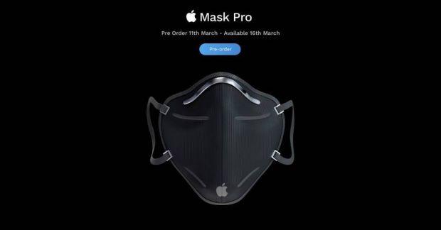 Viralul zilei: Cum ar arăta prima mască Apple de protecție medicală împotriva coronavirusului