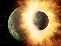 Prima dovadă a impactului cosmic care a dus la formarea Lunii