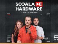 (P) PC Garage lansează  Şcoala de Hardware . Emisiuni LIVE interactive şi educative