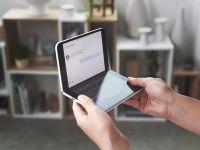 Microsoft publică noi imagini spectaculoase ale telefonului cu două ecrane Surface Duo. FOTO