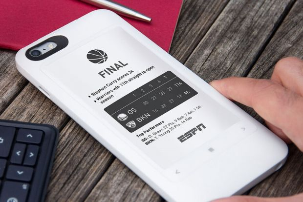 Un bdquo;nou telefon vechi  va fi lansat săptămâna viitoare. Este primul cu ecran E-ink color