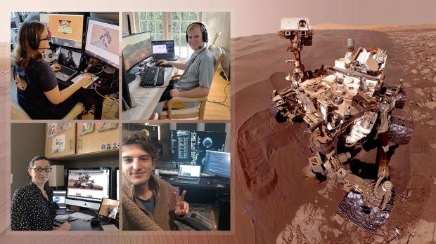 Cum lucrează de acasă echipa NASA care se ocupă de rover-ul Curiosity de pe Marte